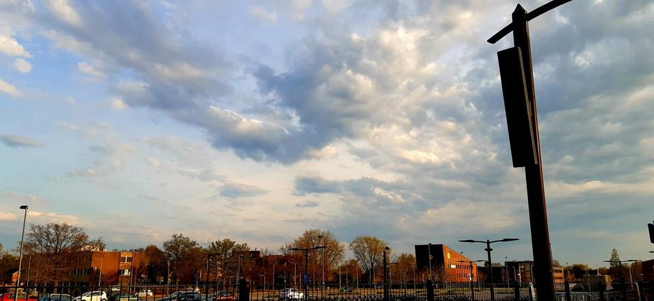 Nog meer wolken.