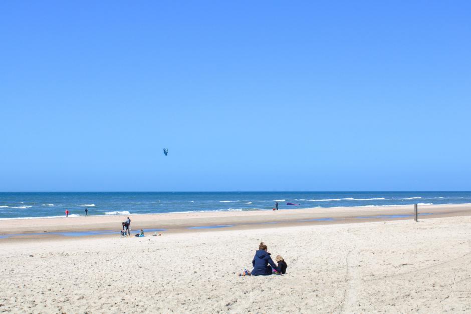 Wat een dag! Met tropische kleuren op het strand!