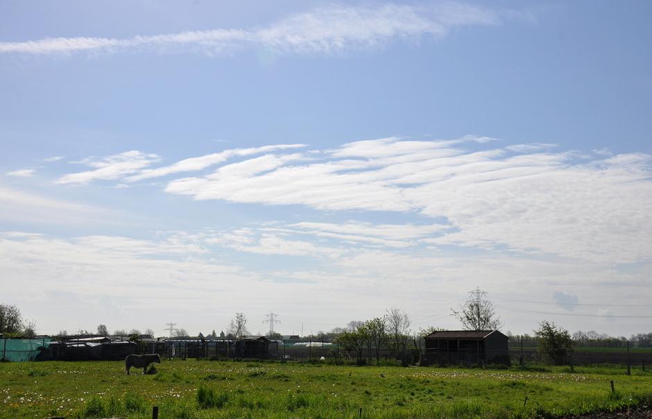 Vriendelijke wolkjes.