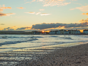 Exmouth sea front sunset
