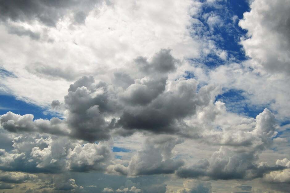 Onstabiele wolkenlucht