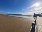 View from Weston Pier