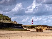 Happisburgh Lighthouse a different angle.