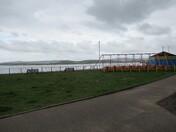 Swings on Exmouth Esplanade
