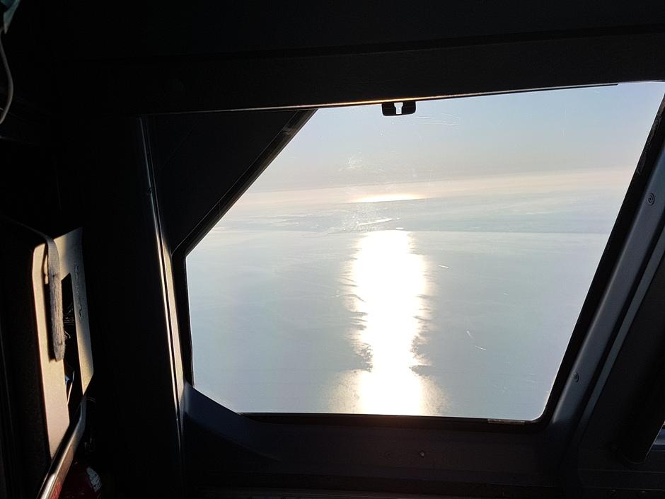 Zon in de zee