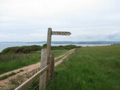 Along the SW coastal footpath betweebn Sandy Bay and Exmouth