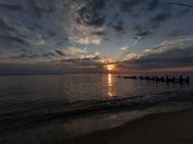 Sunrise at Overstrand