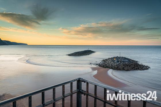 Sunrise at Sidmouth