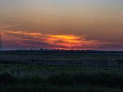 Sunset  saint Olives