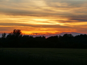 SUNSET AT HEMPTON ON 10,6,2021
