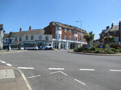 Exmouth Land Train at the roundabout