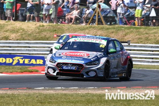Tom Ingram Race Winner