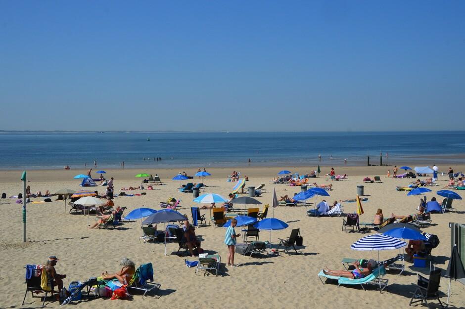 Warme stranddag