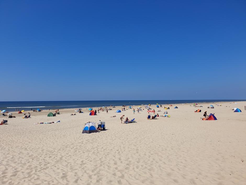 Strandplezier op Texel