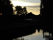 Sunset Reflection on River Wensum