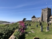 Early summer Views from Uphill Old Church