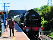 Steam at Milton Station