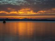 Exmouth estuary summer sunset