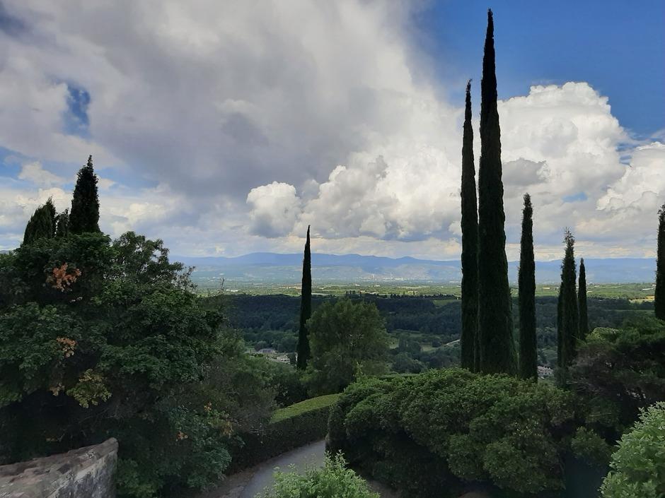 Zon en wolken in Frankrijk