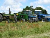 Elmsett Charity Tractor Road Run