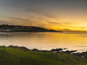 Woodhill Bay panorama