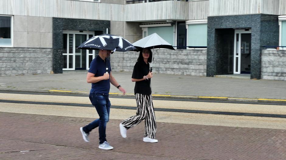 Regen parapluweer