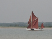 Pin Mill Barge Race 2021