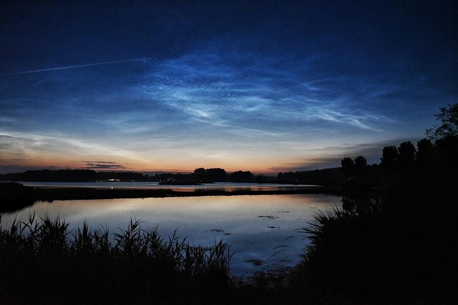 Lichtende nachtwolken nlc's