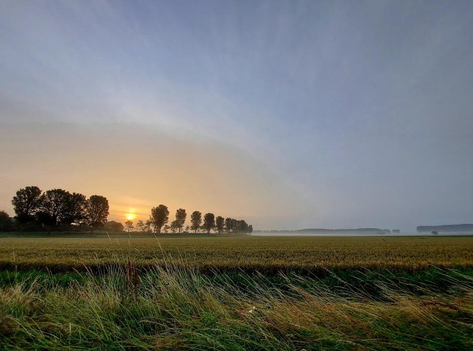 zonsopgang Wolphaartsdijk