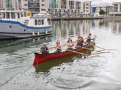 Marina rowing