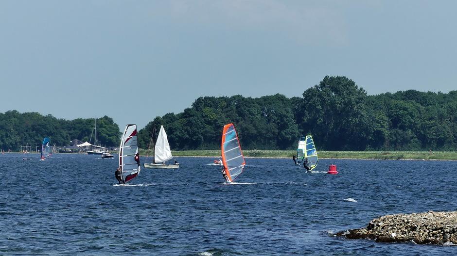 Ideaal windsurfweer