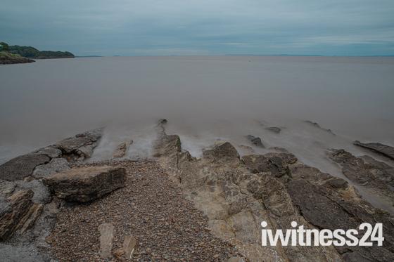 Clevedon Shoreline using 10 stop filter