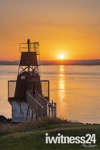 Battery Point sunset