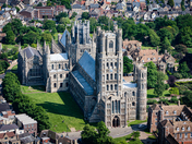 Ely Cathedral From The Air - Project 52 - 'Summer'