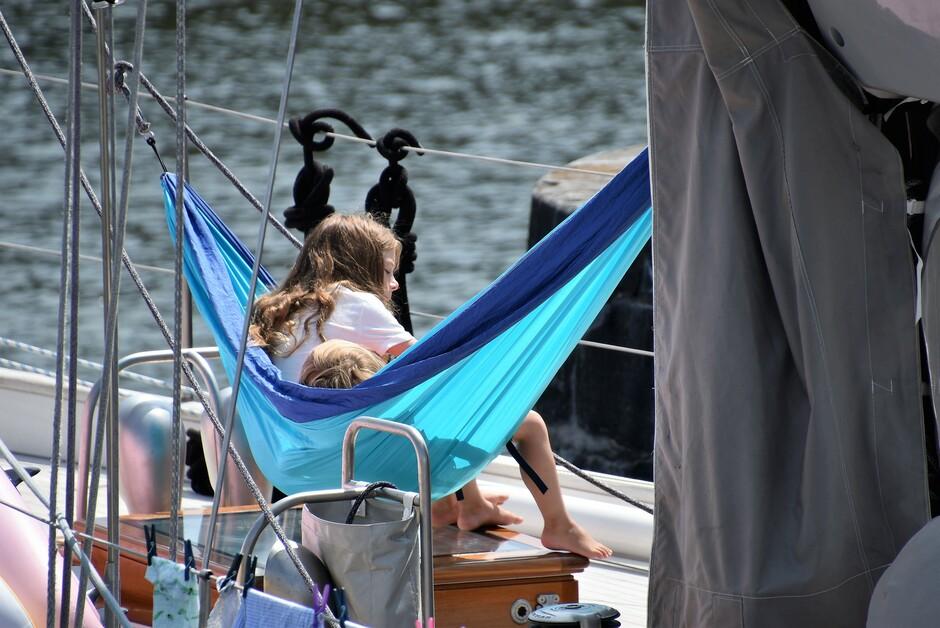 Vakantie op de boot