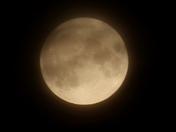 Hazy full moon, Friday 23rd July