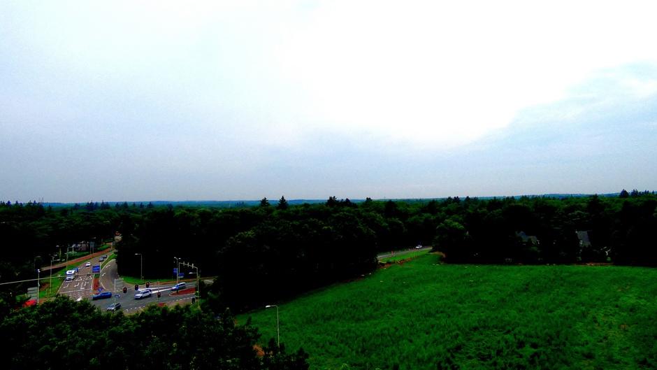 Uitzicht over de Veluwe