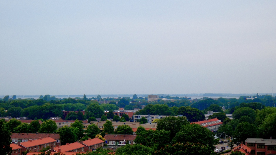 Uitzicht over Harderwijk