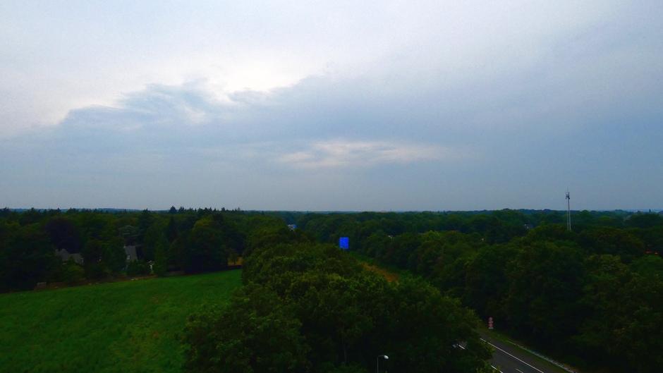 Lucht boven de Veluwe
