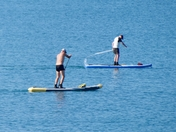 Early morning paddle in Seaton