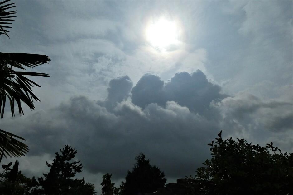 opbollende wolken