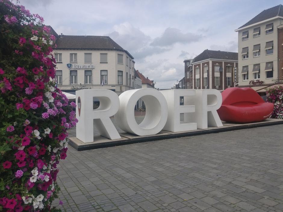 Roermond-een van de kenmerken.