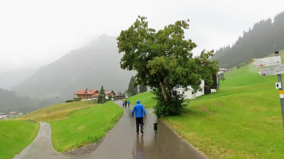 Alpen: regen