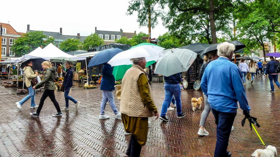 Parapluparade en Regenbuien
