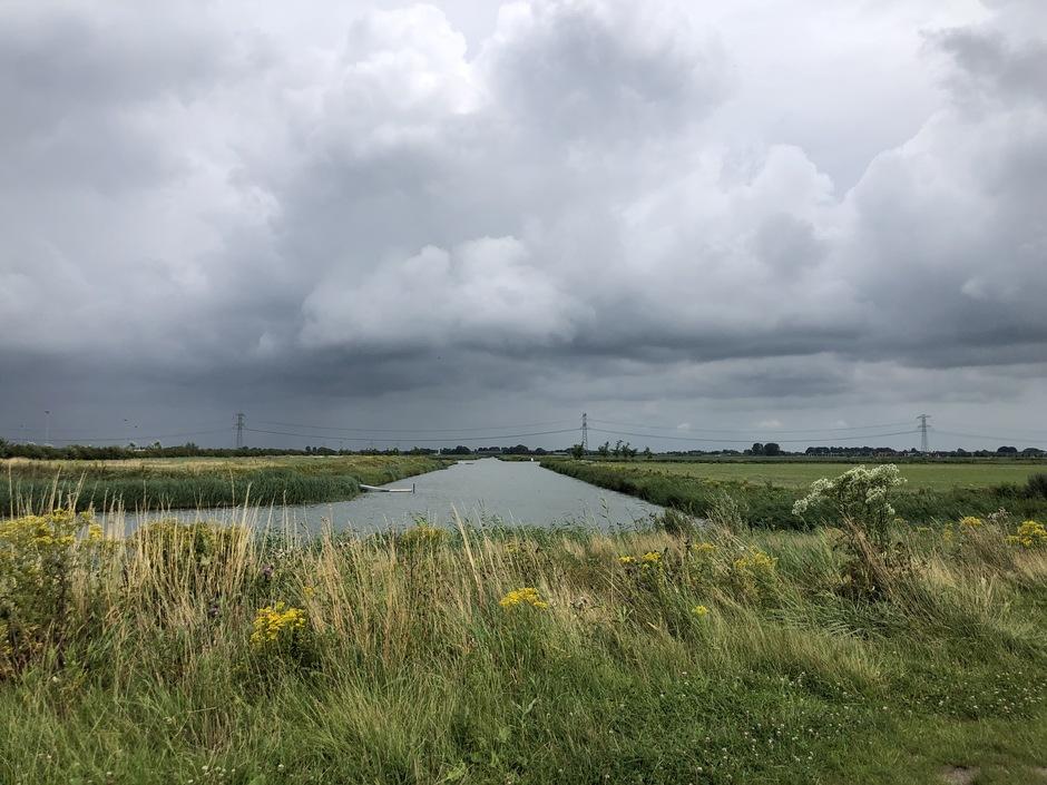 Regen in aantocht