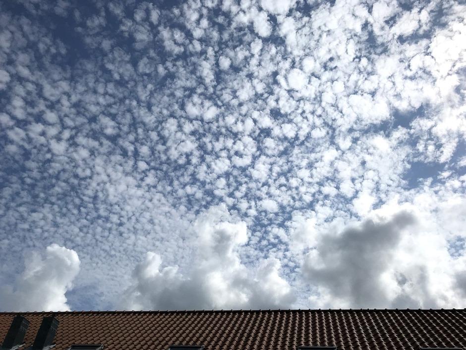 Wolkenlucht.