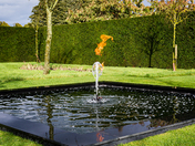 Firey Waterfeature at Houghton Hall - Project 52 - 'Stately Homes'