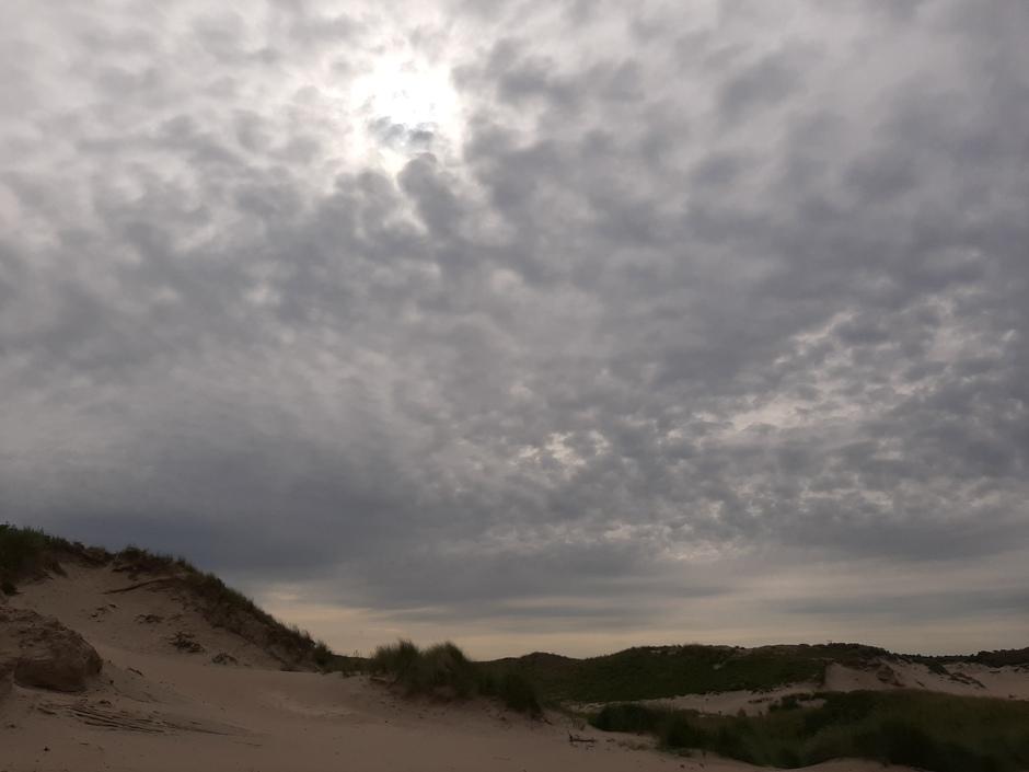 Veel wolkjes