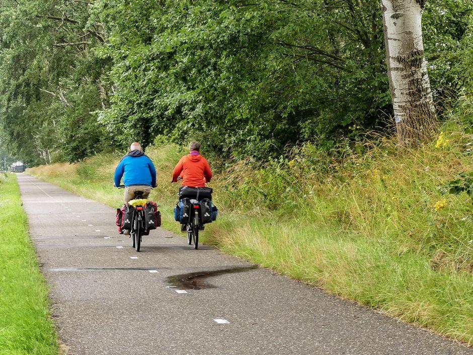 Winderig voor fietsvakantie