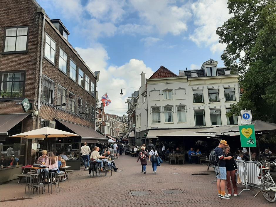 Lekker terrasweer in Haarlem